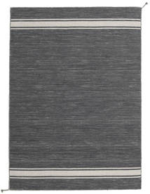 Ernst - Dark Grey/Light Beige Rug 140X200 Authentic  Modern Handwoven Dark Grey (Wool, India)
