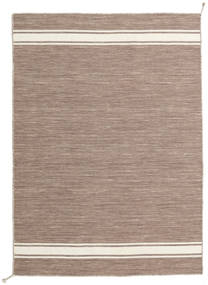 Ernst - Light Brown/Off White Rug 140X200 Authentic  Modern Handwoven Light Brown/Light Grey (Wool, India)