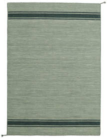 Ernst - Green/Dark _Green Rug 140X200 Authentic  Modern Handwoven Light Grey/Dark Grey (Wool, India)