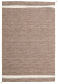 Ernst - Light Brown/Off White Rug 200X300 Authentic  Modern Handwoven Light Brown/Light Grey (Wool, India)