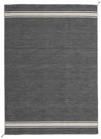 Ernst - Grigio Scuro/Beige Chiaro Tappeto 170X240 Moderno Tessuto A Mano Grigio Scuro (Lana, India)