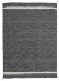 Ernst - Mörkgrå/Ljusbeige Matta 170X240 Äkta Modern Handvävd Mörkgrå (Ull, Indien)