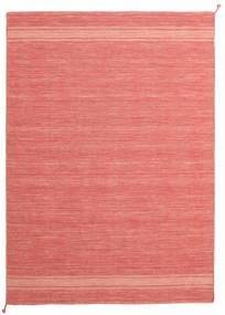 Ernst - Coral/Light_Coral Teppe 170X240 Ekte Moderne Håndvevd Mørk Beige/Orange (Ull, India)