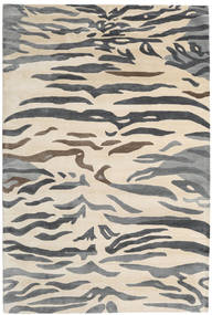 Love Tiger - Gris Alfombra 200X300 Moderna ( India)