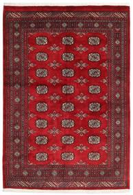 Pakistan Bokhara 3Ply Rug 132X192 Authentic  Oriental Handknotted Crimson Red/Dark Red (Wool, Pakistan)