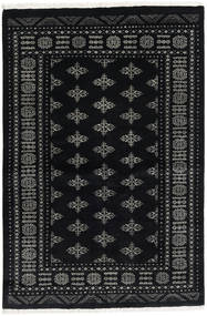Pakistan Bokhara 3Ply Rug 140X209 Authentic  Oriental Handknotted Black/Dark Grey (Wool, Pakistan)