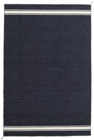 Ernst - Navy/Kość Słoniowa Dywan 250X350 Nowoczesny Tkany Ręcznie Ciemnoniebieski Duży (Wełna, Indie)