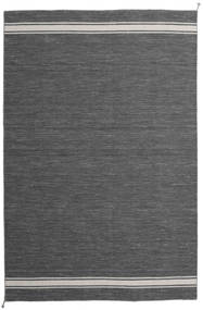 Ernst - Dark Grey/Light Beige Rug 8′2″x11′6″ Authentic  Modern Handwoven Dark Grey Large (Wool, India)
