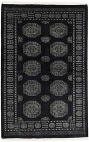 Pakistan Bokhara 3Ply Rug 136X207 Authentic  Oriental Handknotted Black/Dark Grey (Wool, Pakistan)