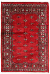 Pakistan Bokhara 3Ply Rug 136X197 Authentic  Oriental Handknotted Dark Red/Crimson Red (Wool, Pakistan)