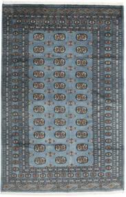 Pakistan Bokhara 3Ply Tæppe 168X250 Ægte Orientalsk Håndknyttet Mørkegrå/Lysegrå/Blå (Uld, Pakistan)
