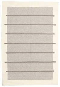 Kelim Moderne Tæppe 131X193 Ægte Moderne Håndvævet Lysegrå/Beige (Uld, Indien)