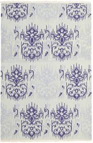 Kelim Moderni Matto 159X240 Moderni Käsinkudottu Vaaleanharmaa/Beige (Villa, Intia)