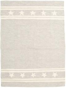 キリム モダン 絨毯 165X225 モダン 手織り 薄い灰色/ベージュ (ウール, インド)