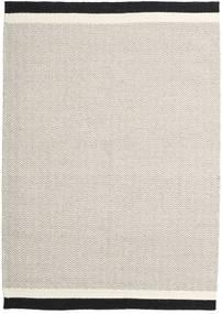 キリム モダン 絨毯 157X229 モダン 手織り 薄い灰色/ベージュ (ウール, インド)