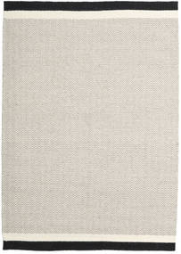 Kelim Moderne Tapijt 157X229 Echt Modern Handgeweven Lichtgrijs/Beige (Wol, India)