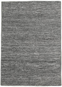 Kilim Modern Rug 136X190 Authentic  Modern Handwoven Dark Grey/Light Grey (Wool, India)