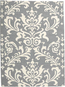 Kelim Moderni Matto 160X230 Moderni Käsinkudottu Vaaleanharmaa/Beige (Villa, Intia)