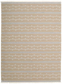 Kilim Modern Rug 173X234 Authentic  Modern Handwoven Light Brown/Light Grey (Wool, India)