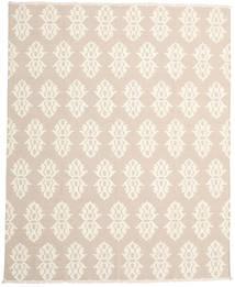 キリム モダン 絨毯 240X308 モダン 手織り ベージュ/ホワイト/クリーム色 (ウール, インド)
