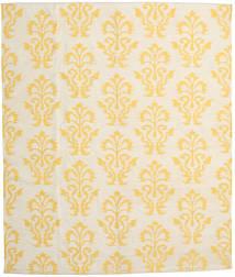 キリム モダン 絨毯 240X285 モダン 手織り ベージュ/黄色 (ウール, インド)