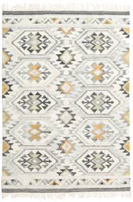 Mirzapur Rug 160X230 Authentic  Modern Handwoven Dark Beige/Beige (Wool, India)