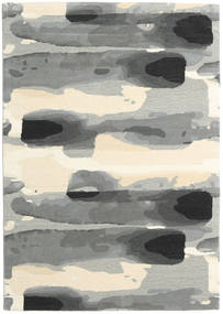 Ink - Grey Rug 160X230 Modern Light Grey/Beige (Wool, India)