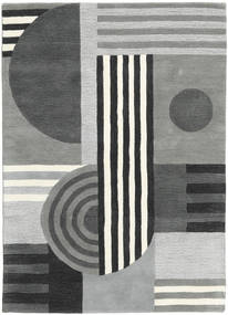 Tilt - Grey Rug 160X230 Modern Light Grey/Dark Blue (Wool, India)