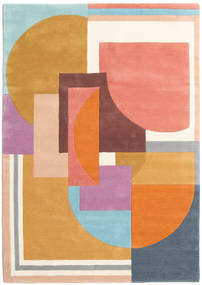 Arty - Multi Rug 160X230 Modern Orange/Dark Beige (Wool, India)