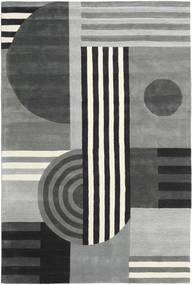 Tilt - Grey Rug 200X300 Modern Light Grey/Black (Wool, India)