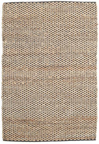 Siri Jute - Natural/Black Rug 120X180 Authentic  Modern Handwoven Light Brown/Beige ( India)