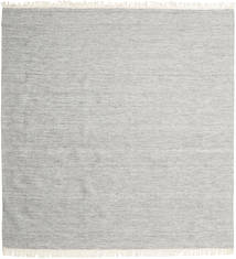 Melange - Grey Rug 250X250 Authentic  Modern Handwoven Square Light Grey/Beige Large (Wool, India)