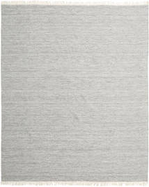 Melange - Grå Tæppe 250X300 Ægte Moderne Håndvævet Lysegrå/Beige Stort (Uld, Indien)