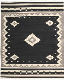Tribal - Black Rug 250X300 Authentic  Modern Handwoven Black/Beige Large (Wool, India)