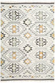 Mirzapur Rug 240X340 Authentic  Modern Handwoven Dark Beige/Beige (Wool, India)