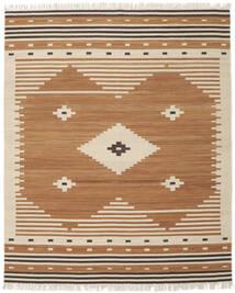 Tribal - Musztardowa Żółć Dywan 250X300 Nowoczesny Tkany Ręcznie Brązowy/Jasnobrązowy Duży (Wełna, Indie)