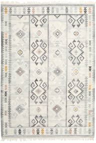 Mentra Rug 200X300 Authentic  Modern Handwoven Dark Beige/Beige/Light Grey (Wool, India)
