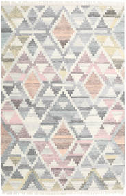 Mandali Rug 200X300 Authentic  Modern Handwoven Light Grey/Beige (Wool, India)