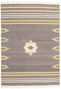 Tribal - Grey Rug 140X200 Authentic  Modern Handwoven Light Grey/Beige (Wool, India)