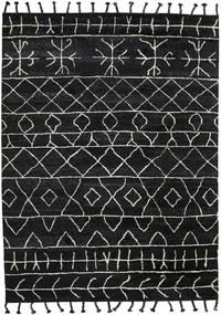 Moss Berber - Czarny Dywan 330X430 Nowoczesny Tkany Ręcznie Czarny Duży (Wełna, Indie)