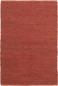 Soxbo - Rust Rug 120X180 Authentic  Modern Handwoven Dark Red/Rust Red ( India)