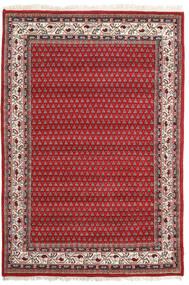 Mir Indie Dywan 139X202 Orientalny Tkany Ręcznie Rdzawy/Czerwony/Czerwony (Wełna, Indie)