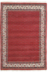Mir インド 絨毯 139X202 オリエンタル 手織り 錆色/赤 (ウール, インド)