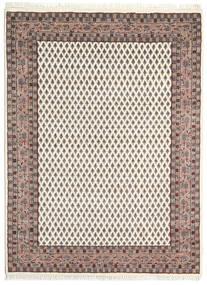 Mir Indisk Matta 142X197 Äkta Orientalisk Handknuten Beige/Ljusbrun (Ull, Indien)