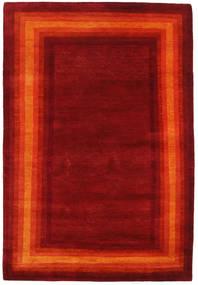 Gabbeh Loribaft Rug 119X173 Authentic  Modern Handknotted Dark Red/Orange (Wool, India)