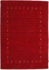 Gabbeh Indo Rug 119X171 Authentic  Modern Handknotted Dark Red/Crimson Red (Wool, India)
