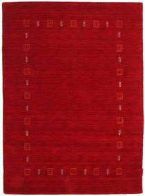 Gabbeh Indo Alfombra 122X168 Moderna Hecha A Mano Roja/Rojo Oscuro (Lana, India)
