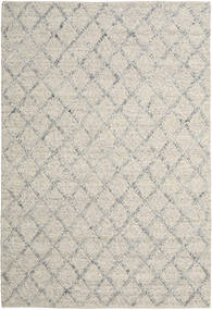 Rut - Silver/Grey Melange Rug 200X300 Authentic  Modern Handwoven Light Grey/Dark Beige (Wool, India)