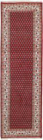 Mir インド 絨毯 85X404 オリエンタル 手織り 廊下 カーペット 深紅色の/茶 (ウール, インド)