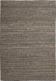 Tilly Rug 200X300 Authentic  Modern Handwoven Light Brown/Black/Dark Grey ( India)